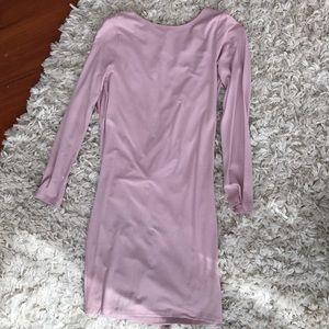 ASOS Backless Longsleeve Mini Dress